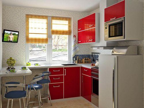 Ремонт маленьких кухонь своими руками фото 937