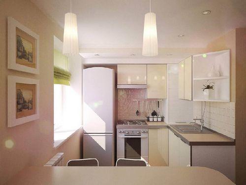 Ремонт маленьких кухонь своими руками