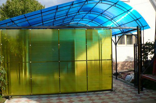 поликарбоната стенки фото из