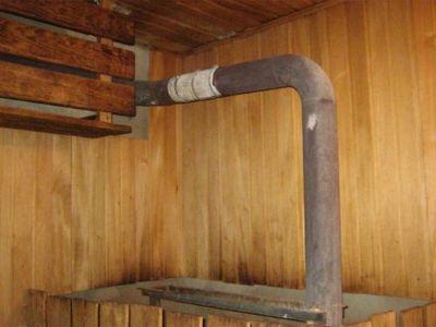 Дымоход в бане через потолок своими руками 526
