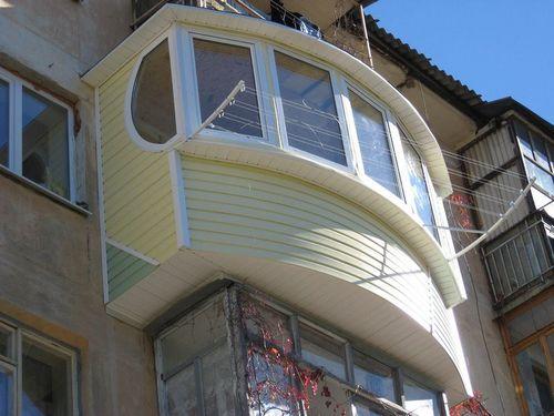 Наружная отделка балкона: видео-инструкция по монтажу с внеш.