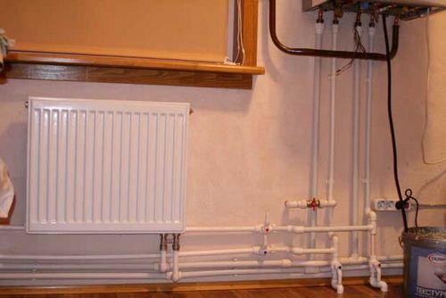 Отопление частного дома своими руками из полипропилена фото