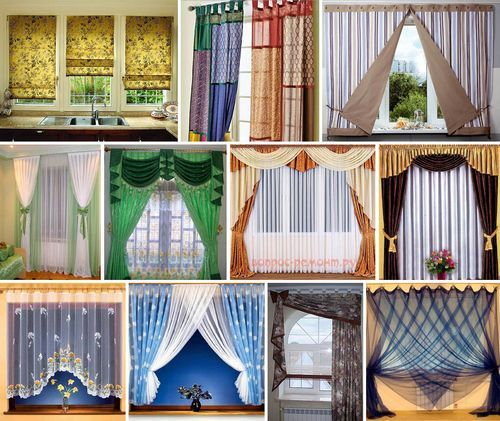 Сделать шторы своими руками фото 73