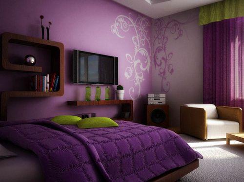 Какие цвета обоев подходят для спальни
